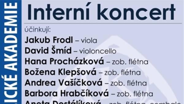 Interní koncert KEA