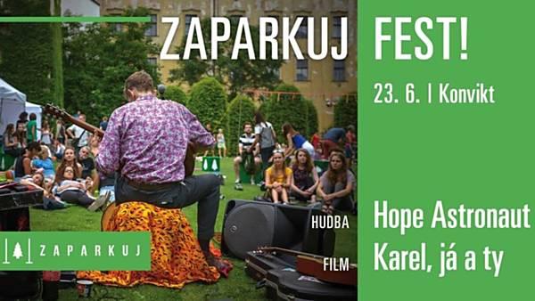Zaparkuj Fest: Hope Astronaut / Karel, já a ty