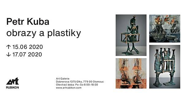 Petr Kuba: obrazy a plastiky