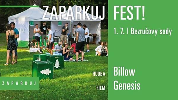 Zaparkuj Fest: koncert Billow / film Genesis