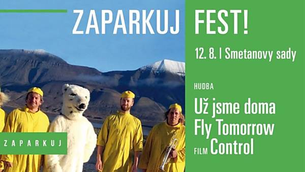 Zaparkuj Fest: Už jsme doma, Fly Tomorrow / Control