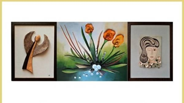 Výstava keramických obrazů Věry Katky Tatarkovičové