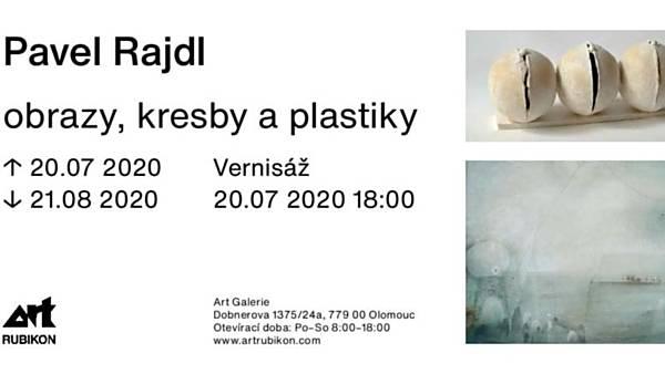 Pavel Rajdl: obrazy, kresby a plastiky