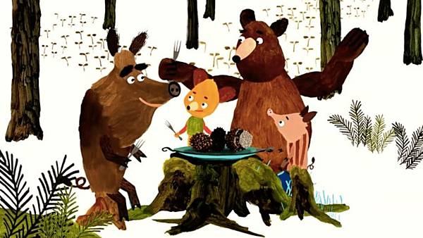Mlsné medvědí příběhy - ONLINE