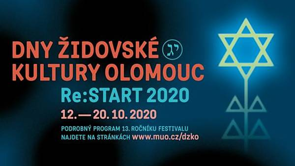 Dny židovské kultury Olomouc 2020 - ONLINE