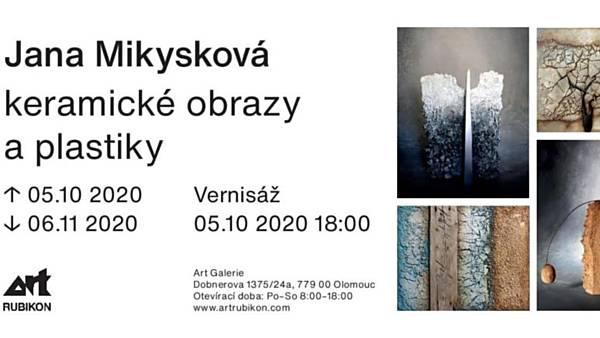 Jana Mikysková - keramické obrazy a plastiky