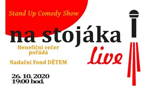 <strike>Stand Up Comedy Show - NA STOJÁKA</strike> - ZRUŠENO!!!