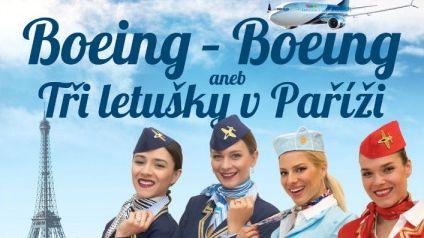 BOEING – BOEING aneb Tři letušky vPaříži - přesunuto z 8.3.