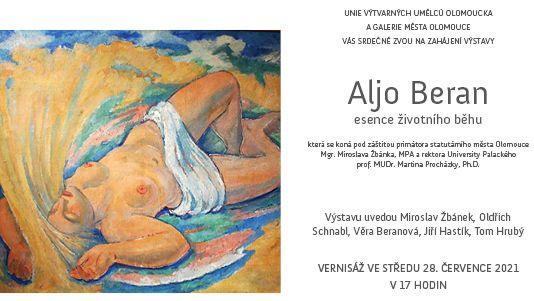 """Aljo Beran """"esence životního běhu"""""""