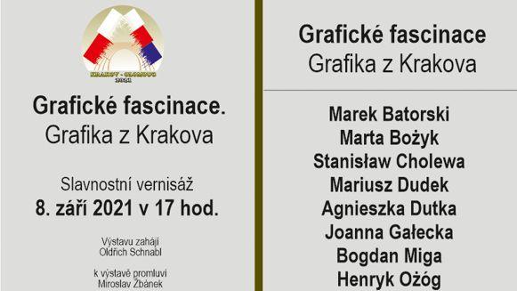 Grafická fascinace - grafika z Krakova
