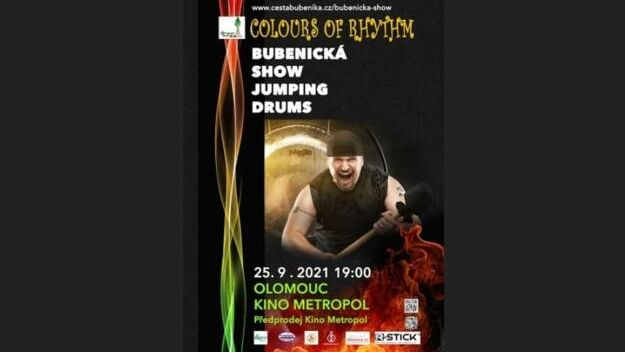 Bubenická show Jumping Drums, Colours of Rhythm