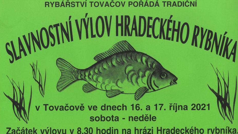 Slavnostní výlov Hradeckého rybníka