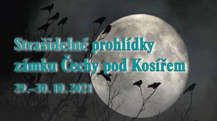 Strašidelné prohlídky zámku Čechy pod Kosířem