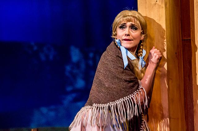Olga Jelínková. Nominaci si vysloužila za roli Slavíka v inscenaci Stravinského opery Slavík v pražském Národním divadle.