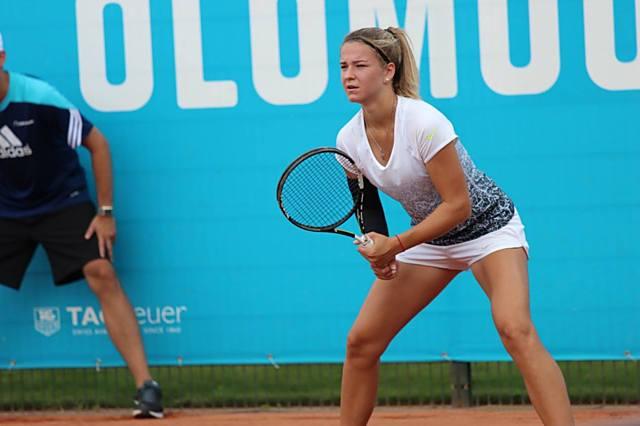 Karolína Muchová musela z ITS CUPu odstoupit kvůli zranění lokte.
