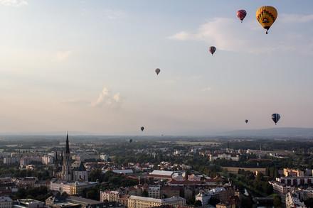 Balony nad Olomoucí.