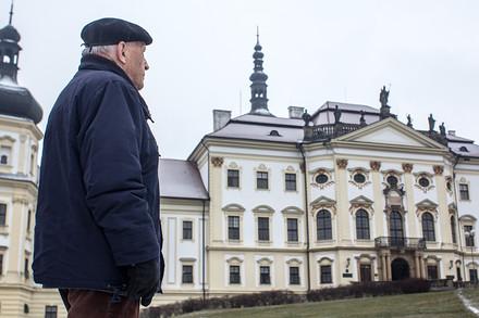 Velké dílo architekta Škamrady: rekonstrukce vnějšího pláště Klášterního Hradiska. Trvala deset let.