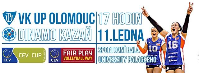 VK UP Olomouc hostí ve středu ruskou Kazaň.