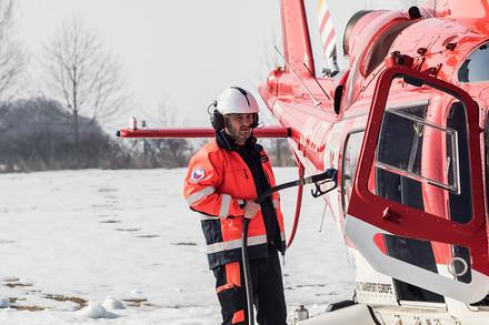 V Olomouci jsou od nynějška k zásahu vždy připraveny dva vrtulníky. Tak, jak to ukládá smlouva.