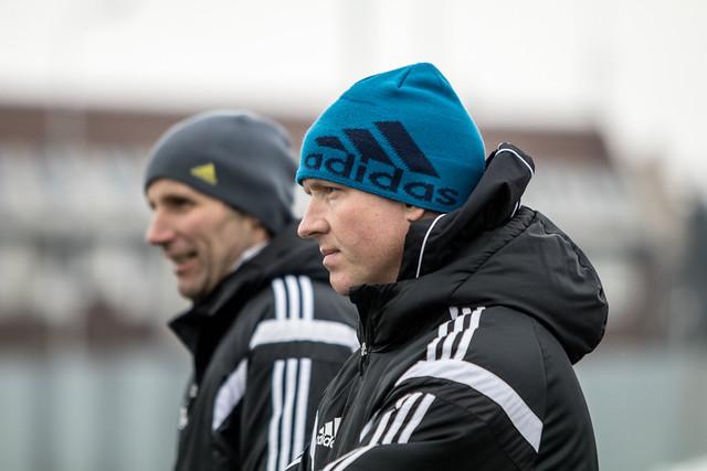 Trenér Sigmy Olomouc Václav Jílek je s herním soustředěním v Chorvatsku spokojen.