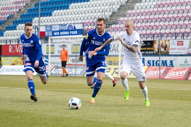 Tomáš Chorý dvěma góly rozhodl o výhře Sigmy Olomouc nad Varnsdorfem.