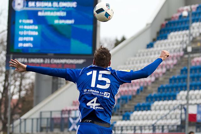 Tomáš Chorý pomáhá v Sigmě v boji za postupem a tajně myslí na Euro U21 v Polsku.