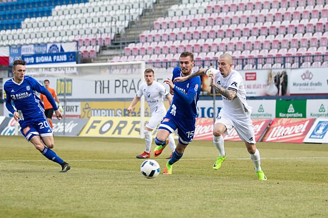 Tomáš Chorý rozhodl utkání s Varnsdorfem. Nyní se Sigma porve o další body na Žižkově a s Vítkovicemi.