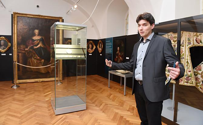 Autor výstavy Filip Hradil