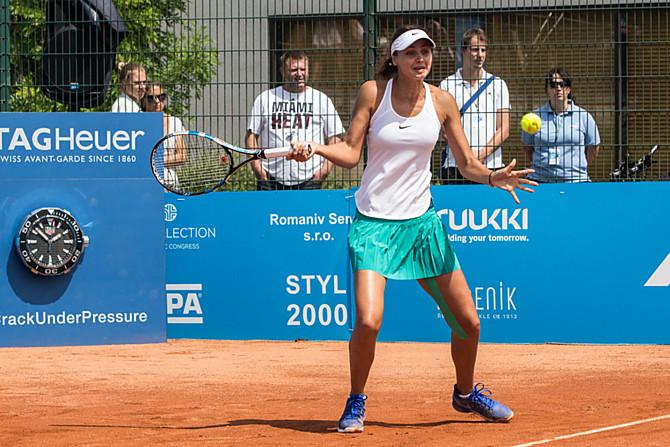 Loňská vítězka ITS CUPu Elizaveta Kulichkovová z Ruska.