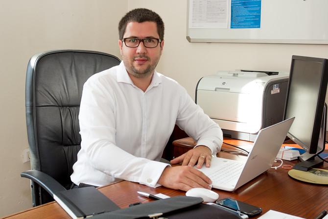 Radim Kašpar, ředitel Okresní hospodářské komory Olomouc.