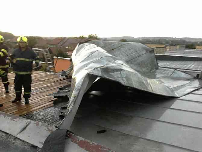Střecha v Radslavicích
