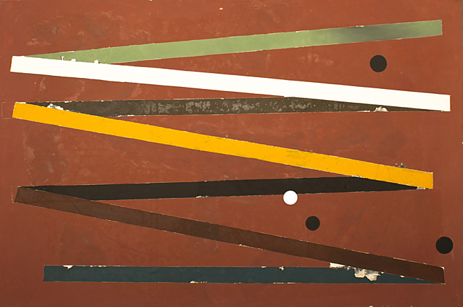 Na výstavě bude k vidění i bezejmenné plátno Tomáše Bárty.