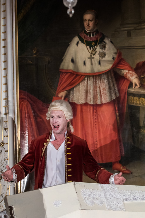Je to zvláštní. V představení Amadeus jsem hrál Mozartova soka Salieriho, teď se na to podívám z druhé strany, usmívá se Petr Kubes.