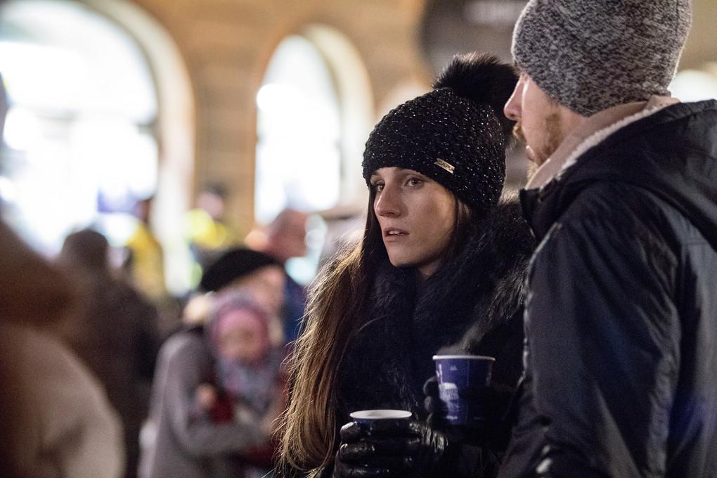Vánoční trhy v Olomouci mají své kouzlo a jsou i častým cílem turistů.