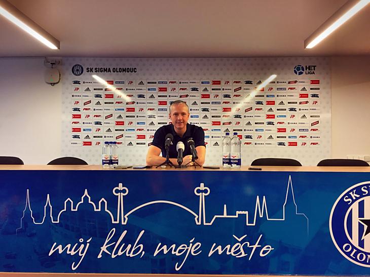 Trenér SK Sigma Olomouc Václav Jílek zhodnotil na tiskové konferenci po skončení podzimní části HET ligy výkony svého týmu.