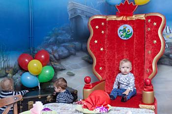 Dopřejte svému prckovi oslavu narozenin v podmořském světě.