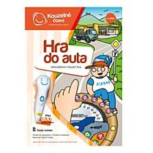 Hra do auta - interaktivní hra, která se postará o dokonalou zábavu prostřednictvím kvízových otázek, pestrých úkolů, zvuků a veselých dopravních písniček. Děti se dozvědí zajímavé informace o dopravě a cestování. (Bambule, 299 korun)