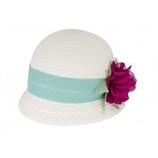 Dětský klobouček pro holčičky, dostupný ve velikostech 18 měsíců, 2 roky (429 korun)