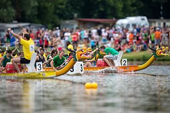 Oblíbené dračí lodě opět v Olomouci. Pro děti je navíc po celou sobotu 21. července připraven bohatý doprovodný program.