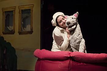 Pohádku o pejskovi jménem Dášenka můžete vidět v Divadle na Šantovce 23. září.