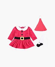 Šaty s punčochami, dostupné ve velikostech 3–18/24 měsíců (299 korun)