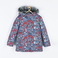 Zimní bunda, dostupná ve velikostech 92–116 (1279 korun)