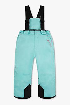 Lyžařské kalhoty, dostupné ve velikostech 98–128
