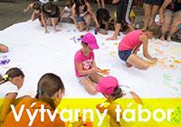 Výtvarný tábor TAPAZA v Moravském Berouně
