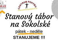 Stanový tábor na Sokolské
